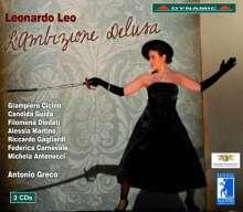 Leonardo Leo (1694-1744): L'Ambizione Delusa, 3 CDs