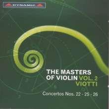 The Masters of Violine Vol.2 - Viotti, CD