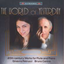 Ginevra Petrucci - The World of Yesterday, CD