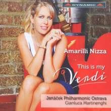 Amarilli Nizza - This is my Verdi, CD