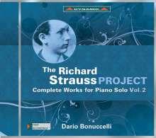 Richard Strauss (1864-1949): The Richard Strauss Project - Sämtliche Werke für Klavier solo Vol.2, CD