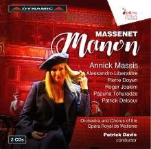Jules Massenet (1842-1912): Manon, 2 CDs