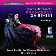 Saverio Mercadante (1795-1870): Francesca da Rimini, 3 CDs
