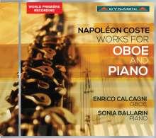 Napoleon Coste (1806-1883): Werke für Oboe & Klavier, CD