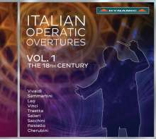 Italian Operatic Overtures Vol.1 - The 18th Century, CD