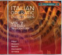 Italian Operatic Overtures Vol.2 - The early 19th Century, CD