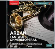 Jean-Baptiste Arban (1825-1889): Fantasien über Verdi-Opern, 2 CDs