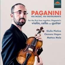 Niccolo Paganini (1782-1840): Paganini - His Music, His Instruments, CD