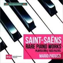 Camille Saint-Saens (1835-1921): Seltene Klavierwerke, CD