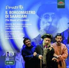 Gaetano Donizetti (1797-1848): Il Borgomastro di Saardam, 2 CDs