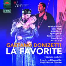 Gaetano Donizetti (1797-1848): La Favorite, 2 CDs