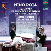 Nino Rota (1911-1979): La Notte di un Nevrastenico (The Night of a Neurotic), 2 CDs