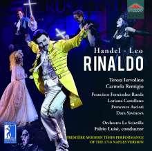 Georg Friedrich Händel (1685-1759): Rinaldo (Opernpasticcio in der Version von Leonardo Leo / Neapel, 1718), 3 CDs
