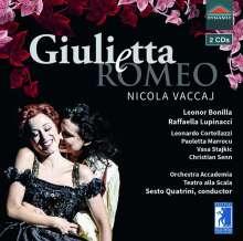 Nicola Vaccaj (1790-1848): Giuletta e Romeo, 2 CDs