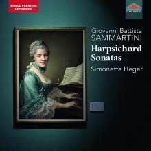 Giovanni Battista Sammartini (1701-1775): Cembalosonaten Nr.1-18, CD