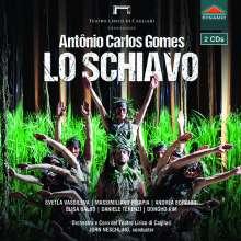 Antonio Carlos Gomes (1836-1898): Lo Schiavo, 2 CDs
