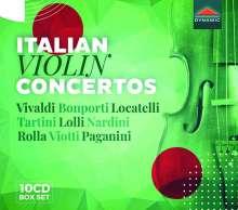 Italian Violin Concertos, 10 CDs
