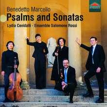 """Benedetto Marcello (1686-1739): Psalmen Nr.21 & 24 aus """"Estro poetico-armonico"""", CD"""