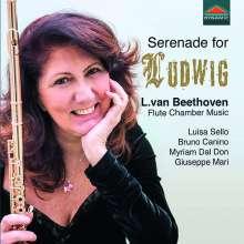 """Ludwig van Beethoven (1770-1827): Kammermusik für Flöte - """"Serenade for Ludwig"""", CD"""