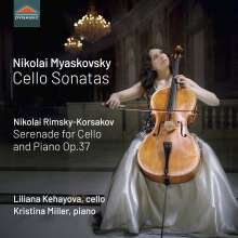Nikolai Miaskowsky (1881-1950): Cellosonaten Nr.1 & 2, CD