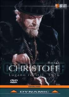 Boris Christoff - Lugano Recital 1976, DVD