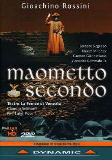 Gioacchino Rossini (1792-1868): Maometto II, 2 DVDs