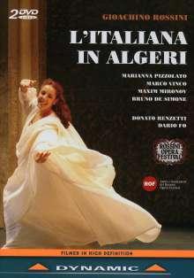 Gioacchino Rossini (1792-1868): L'Italiana in Algeri, 2 DVDs