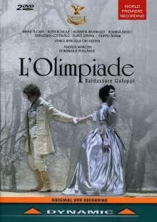 Baldassare Galuppi (1706-1785): L'Olimpiade, 2 DVDs