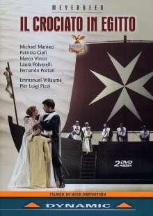 Giacomo Meyerbeer (1791-1864): Il Crociato in Egitto, 2 DVDs