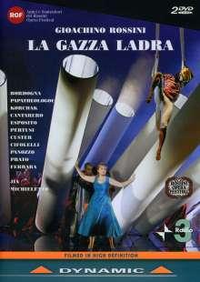 Gioacchino Rossini (1792-1868): La Gazza Ladra (Die diebische Elster), 2 DVDs