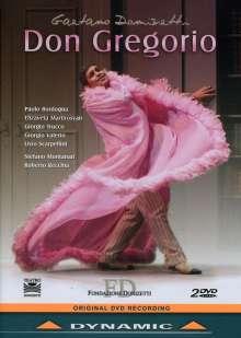 Gaetano Donizetti (1797-1848): Don Gregorio, 2 DVDs