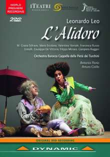 Leonardo Leo (1694-1744): L'Alidoro, 2 DVDs
