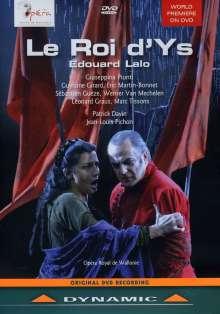 Edouard Lalo (1823-1892): Le Roi d'Ys (Oper in 3 Akten), DVD