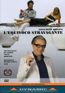 Gioacchino Rossini (1792-1868): L'Equivoco Stravagante, DVD