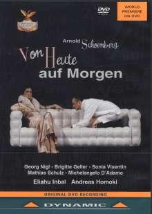 Arnold Schönberg (1874-1951): Von heute auf morgen (Oper in 1 Akt), DVD
