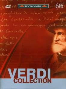 Giuseppe Verdi (1813-1901): Verdi Collection (5 Operngesamtaufnahmen), 6 DVDs