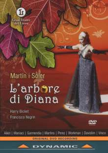 Vicente Martin y Soler (1754-1806): L'Arbore Di Diana, DVD