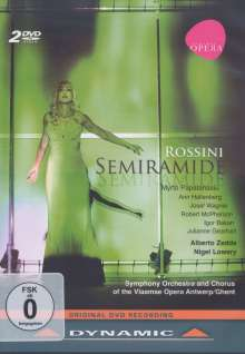 Gioacchino Rossini (1792-1868): Semiramide, 2 DVDs