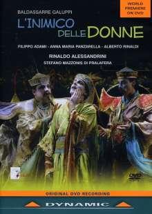 Baldassare Galuppi (1706-1785): L'Inimico Delle Donne, DVD