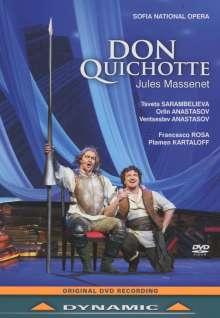 Jules Massenet (1842-1912): Don Quixotte, DVD
