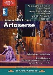 Johann Adolph Hasse (1699-1783): Artaserse, 2 DVDs