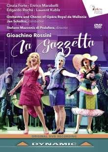 Gioacchino Rossini (1792-1868): La Gazzetta, DVD