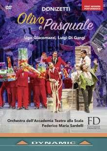 Gaetano Donizetti (1797-1848): Olivo e Pasquale, DVD