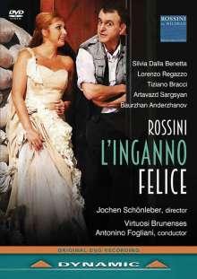 Gioacchino Rossini (1792-1868): L'Inganno Felice, DVD