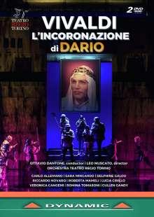 Antonio Vivaldi (1678-1741): L'Incoronazione di Dario - Oper RV 719, 2 DVDs