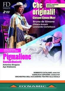 Johann Simon (Giovanni Simone) Mayr (1763-1845): Che Originali!, 2 DVDs