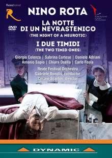 Nino Rota (1911-1979): La Notte di un Nevrastenico (The Night of a Neurotic), DVD