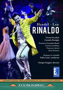 Georg Friedrich Händel (1685-1759): Rinaldo (Opernpasticcio in der Version von Leonardo Leo / Neapel,1718), 2 DVDs
