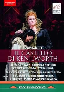 Gaetano Donizetti (1797-1848): Il Castello di Kenilworth, DVD