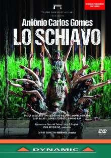 Antonio Carlos Gomes (1836-1898): Lo Schiavo, DVD